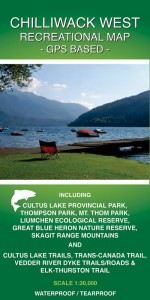 CHILLIWACK WEST Recreational Map