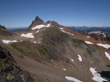 Stewart Peak – W aspect