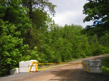 New gates up in DND areas – Chilliwack-Liumchen Creek FSR