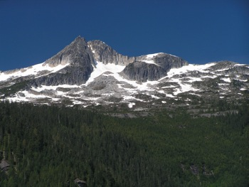 MacDonald Peak – E aspect