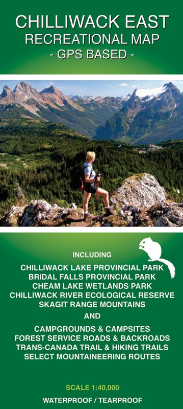 CHILLIWACK EAST RECREATIONAL MAP