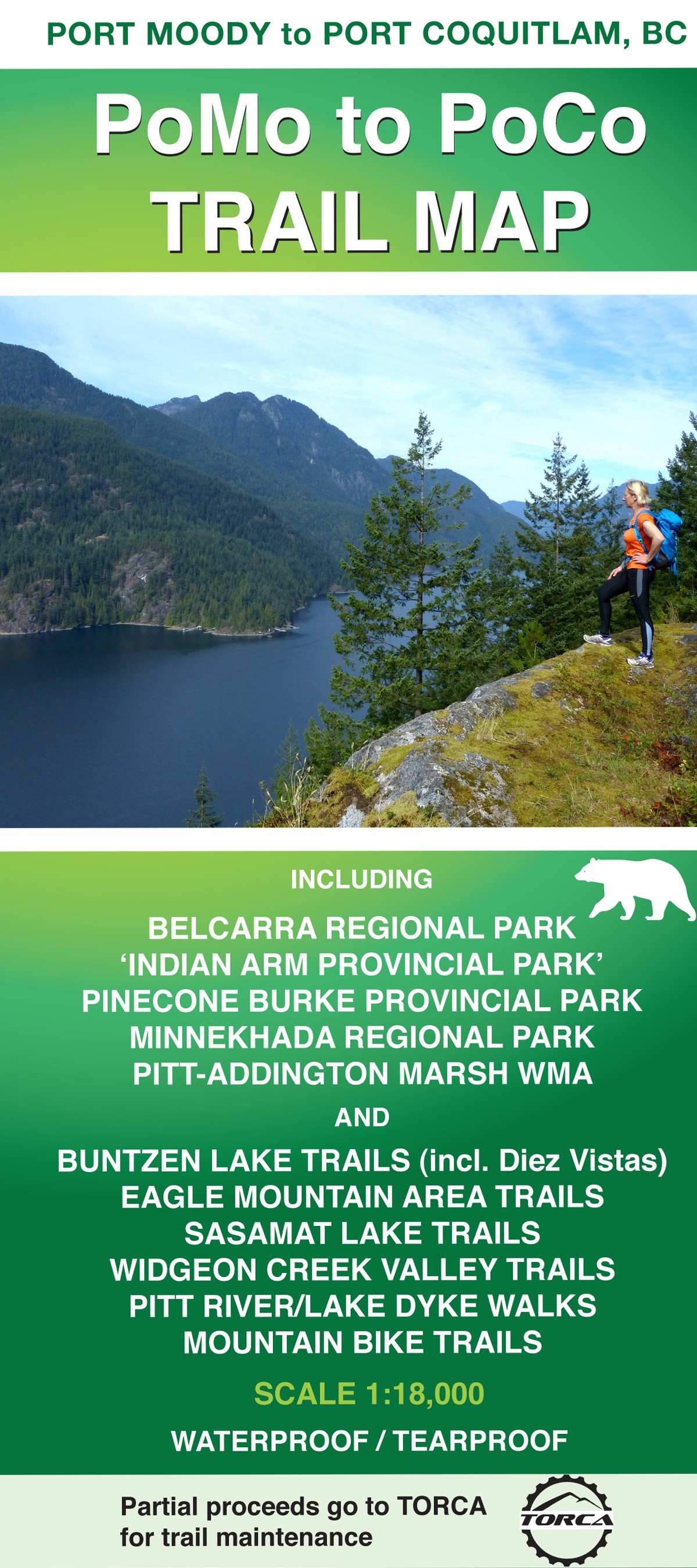 PoMo to PoCo TRAIL MAP