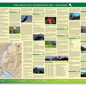 East Chilliwack hiking trail map -Backside Image